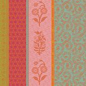 """Mille Saris Pendjab 19""""x19"""" Napkin, 100% Cotton - Set of 4"""