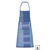 """Mille Matieres Abysses Apron 30""""x33"""", Coated Cotton"""