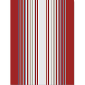 "Paseo Terracotta 20""x28"" Kitchen Towel, 100% Linen"