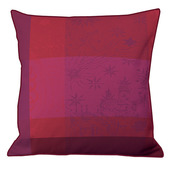 "Mille Couleurs Pivoine Cushion Cover  16""x16"", Organic Cotton"