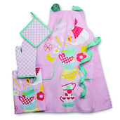 Breakfast Pink Kitchen Set