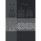 Kitchen Towel Poivre Noir, cotton