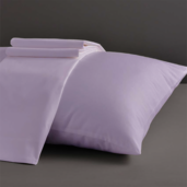 Desire Collection Lilac Standard/Queen Set of Two Pillow Cases 400TC, 100% ELS Cotton.