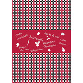 Bistro La Maison Les Fruits et Legumes Printed Kitchen Towel