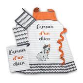 L'amour d'un chien Orange Kitchen Set