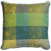 Cushion Cover L Mille Couleurs Lime, Cotton - 2ea