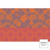 Figuier Set Violet Placemat, GS Stain Resistant-4ea