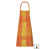 "Mille Banquets Ocre Apron 30""x33"", Coated Cotton"