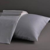 Dream Collection Light Grey King Sheet Set 200TC, 100% Organic Cotton.