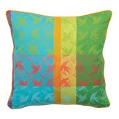 """Mille Colibris Antilles Cushion Cover  16""""x16"""", 100% Cotton"""