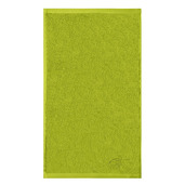"""Ligne Bambou Green Guest Towel 12""""x20"""", Bamboo/Cotton"""