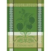 "Citron Vert Vert Acide Kitchen Towel 22""x30"", 100% Cotton"