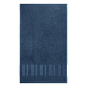 "Hammam Bleu 12""x20"" Guest Towel, Organic Cotton - Set of 4"