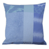 "Mille Matieres Abysses Cushion Cover  20""x20"", 100% Cotton"