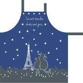 Paris la Nuit Ciel Etoile Apron