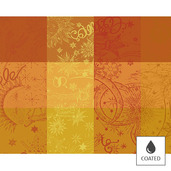 Placemats Mille Couleurs Soleil, Coated - 4ea