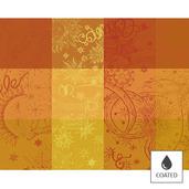 "Mille Couleurs Soleil Placemat 16""x20"", Coated Cotton"