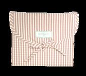 Stripes Blush Queen Duvet Set 200 thread count, 100% Cotton.
