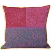 "Mille Holi Festival 16""x16"" Cushion Cover, 100% Cotton - Set of 2"