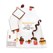 Le Chocolat Chaud Kitchen Set of 4