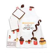 Le Chocolat Chaud Kitchen Set of 4
