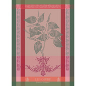 "Brin de Poivre Rose 22""x30"" Kitchen Towel, 100% Cotton"