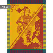 "Carte Reine Festival Kitchen Towel 22""x30"", 100% Cotton"