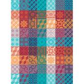 """Mille Tiles Tor Multicolore Kitchen Towel 22""""x30"""", 100% Cotton"""
