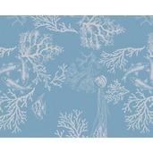 """Mille Coraux Ocean Placemat 16""""x20"""", 100% Cotton"""
