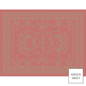"""Empire 4 Set Corail Placemat 14""""x18"""", Green Sweet"""
