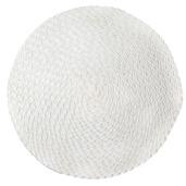 Rosette Cream Vinyl Placemat