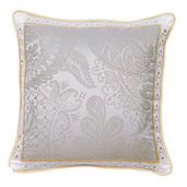 """Isaphire Platine Cushion Cover  20""""x20"""", 100% Cotton"""