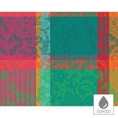 """Mille Dentelles Floralies Placemat 16""""x20"""", Coated Cotton"""