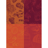 Fruits Rouge Kitchen Towel, Cotton