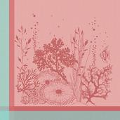 Corail Rose Napkin, Cotton-4ea