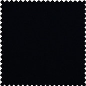 "Plain Black Polyester Tablecloth Round 90"" Rnd"