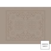 """Eloise Macaron Placemat 21""""x15"""" GS Stain-Resistant Cotton, HTC - 4ea"""