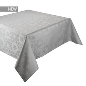"Mille Gibraltar Opale Tablecloth 61""x61"", 100% Cotton"