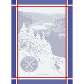 The French Ski Club Frenchy Kitchen Towel, Cotton
