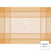 Persina Dore Or Placemat, Stain Resistant-4ea