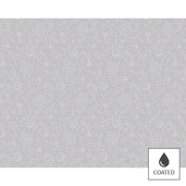 """Mille Charmes Nacre Placemat 16""""x20"""", Coated Cotton"""