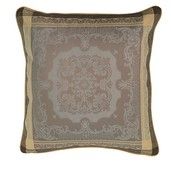 "Fontainebleau Tilleul Cushion Cover  20""x20"", 100% Cotton"