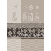 Kitchen Towel Sel Blanc, cotton