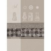 """Sel Blanc Kitchen Towel 22""""x30"""", 100% Cotton"""