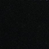 Pack of 12 Plain Satin Cottonrich Black Napkin