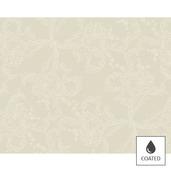"Mille Eternel Albatre Placemat 16""x20"", Coated Cotton"