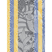 Papagaio Wax Kitchen Towel, Cotton