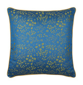 "Mille Branches Mini Paon Cushion Cover 16""x16"", Cotton-2ea"