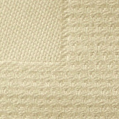 Pack of 12 Partridge Eye Border Ivory Napkin