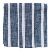 Dobby Stripes Blue Kitchen Towels - SET of 2ea